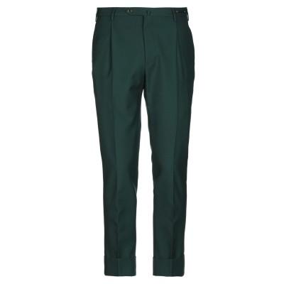 PT Torino パンツ ダークグリーン 46 ポリエステル 55% / バージンウール 45% パンツ