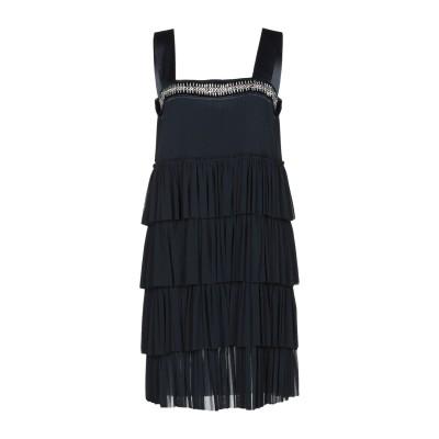 ツインセット シモーナ バルビエリ TWINSET ミニワンピース&ドレス ダークブルー 42 100% ナイロン ミニワンピース&ドレス