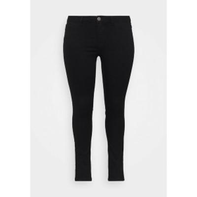 ジュナローズ バイ ヴェロ  モーダ レディース デニムパンツ ボトムス JRFOURQUEENNORA - Slim fit jeans - black black