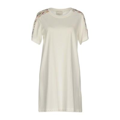 3.1フィリップリム 3.1 PHILLIP LIM ミニワンピース&ドレス アイボリー M コットン 100% / シルク ミニワンピース&ドレス