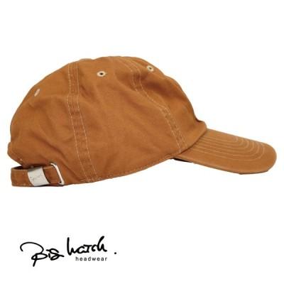 大きいサイズ BIGWATCH正規品 メンズ 帽子 L XL コットンキャップ キャメル ローキャップ ビッグワッチ  6パネル TCP-14 春 夏 秋