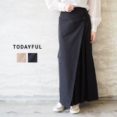 トゥデイフル スカート TODAYFUL レディース Wraparound Chino Skirt 12010806 ラップスカート ロングスカート ロング
