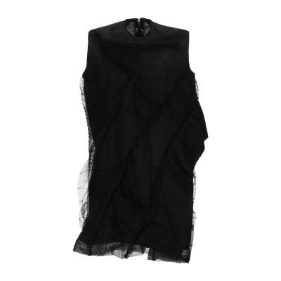 リック オウエンス RICK OWENS ミニワンピース&ドレス ブラック 38 ナイロン 100% / コットン ミニワンピース&ドレス