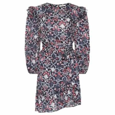 イザベル マラン Isabel Marant. Etoile レディース ワンピース ワンピース・ドレス Telicia printed linen minidress Midnight