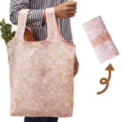 エコバッグ ショッピングバッグ アニマルガーデン 折りたたみ コンパクト収納 ( トートバッグ 買い物バッグ 買い物袋 レジバッグ コ