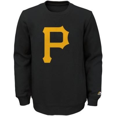 ピッツバーグ・パイレーツ Majestic Youth Our Team Pullover スウェットシャツ - Black