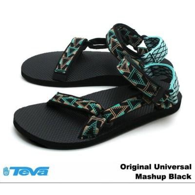 テバ サンダル メンズ オリジナル ユニバーサル マッシュアップブラック Teva 1004006 Original Universal Mashup Black