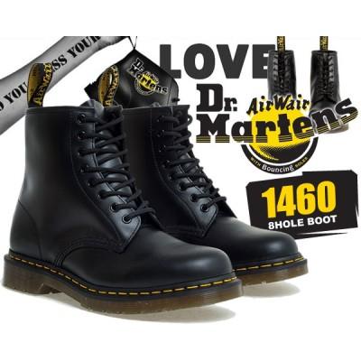 【ドクターマーチン 8ホール】【R11822006】Dr.Martens1460 8HOLE BOOT SMOOTH BLACK【レースアップブーツ】