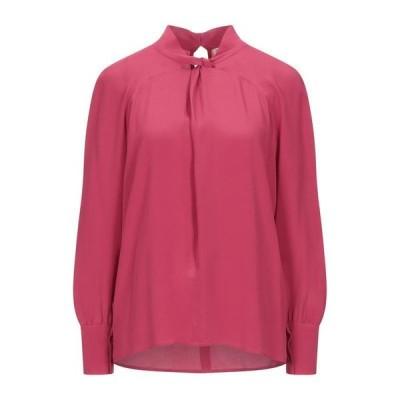 SE-TA Rosy Iacovone ブラウス ファッション  レディースファッション  トップス  シャツ、ブラウス  長袖 フューシャ