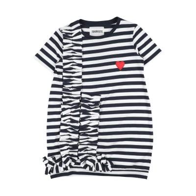 TOURISTE スウェットシャツ ダークブルー 12 コットン 100% スウェットシャツ