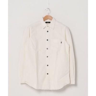 シャツ ブラウス カットオフ コーデュロイシャツS-CULL