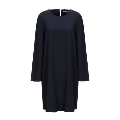 HOPE COLLECTION ミニワンピース&ドレス ダークブルー L ポリエステル 100% ミニワンピース&ドレス