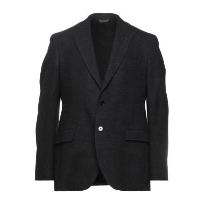 TOMBOLINI テーラードジャケット ブラック 52 ウール 70% / ナイロン 25% / 紡績繊維 5% テーラードジャケット
