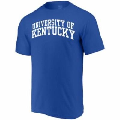 Alta Gracia アルタ グラシア スポーツ用品  Alta Gracia (Fair Trade) Kentucky Wildcats Royal Arched Wordmark T-Shirt