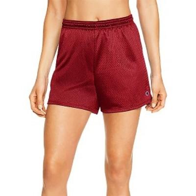 チャンピオン レディース カジュアルパンツ ボトムス Champion Women's Mesh Shorts Red