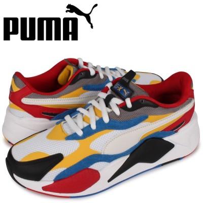 プーマ PUMA パズル スニーカー メンズ RS-X3 PUZZLE ホワイト 白 371570 04