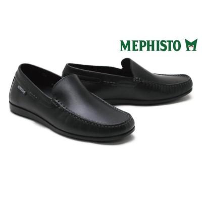 メフィスト / MEPHISTO メンズ カジュアルシューズ algorasa614h87 アルゴラス ブラック