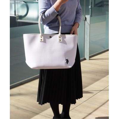 THE PLATINUM SELECT / 【U.S. POLO ASSN.】 ユーエスポロアッスン ネオプレン トートバッグM US2576 WOMEN バッグ > トートバッグ