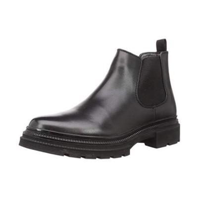 [デデス] 厚底ソール サイドゴア ブーツ 5295 メンズ (ブラック 25.0 cm)