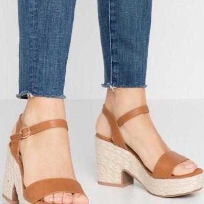 アンナフィールド レディース サンダル High heeled sandals - cognac