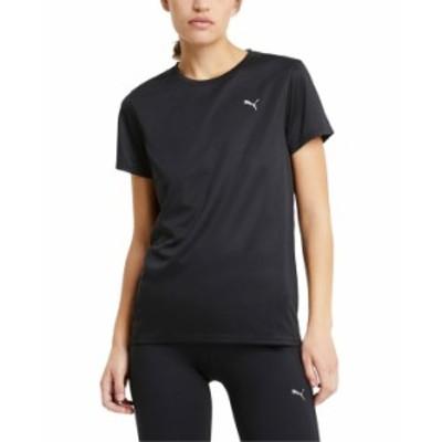 プーマ レディース シャツ トップス Women's Run Favorite T-Shirt Puma Black