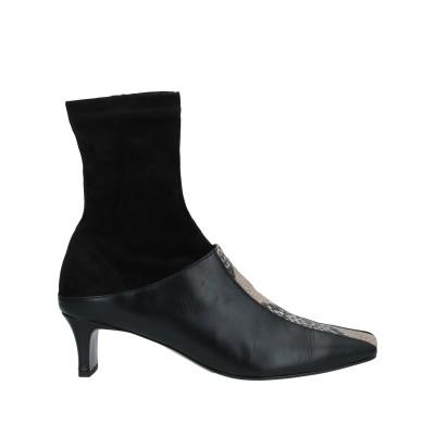 SALONDEJU ショートブーツ ブラック 35 革 ショートブーツ