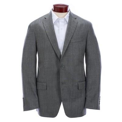 ハート シャフナー マルクス メンズ ジャケット・ブルゾン アウター Modern Fit Solid Grey Wool Blend Sportcoat