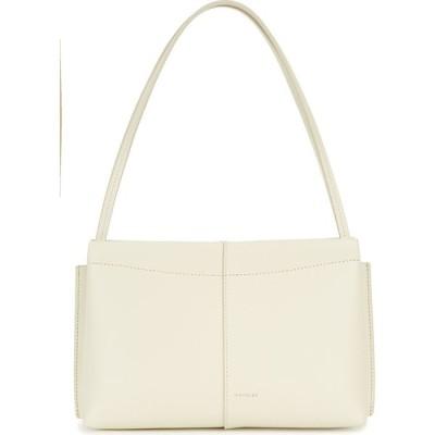 ワンダラー Wandler レディース ショルダーバッグ バッグ carly mini ivory leather shoulder bag Natural