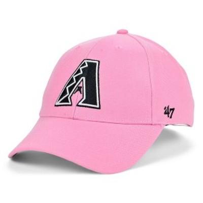 47ブランド メンズ 帽子 アクセサリー Arizona Diamondbacks Pink Series Cap Rose