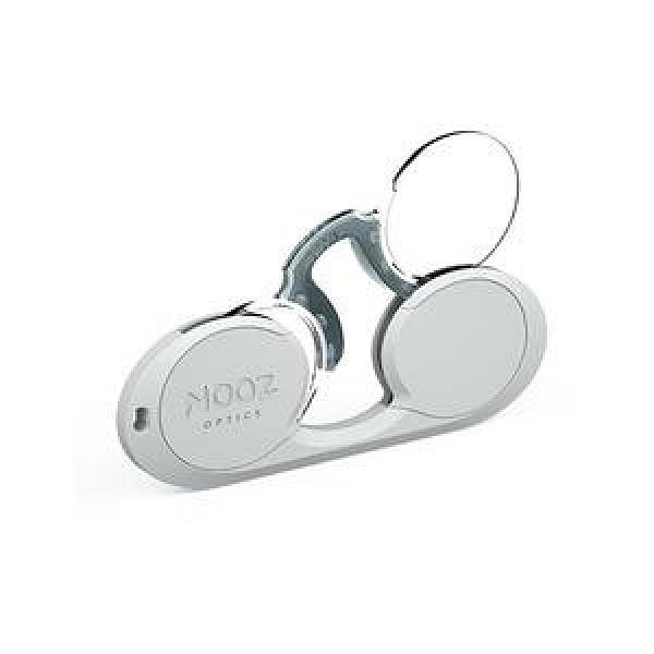 NOOZ 時尚造型老花眼鏡 - 橢圓形 銀250 度