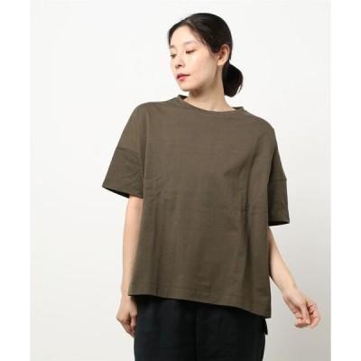 tシャツ Tシャツ 【21夏新着】綿100%バックジップTシャツ
