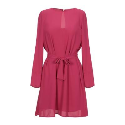 メルシー ..,MERCI ミニワンピース&ドレス フューシャ 38 ポリエステル 100% ミニワンピース&ドレス