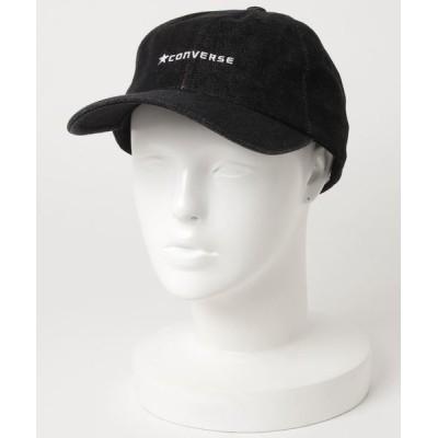 LB/S / 【CONVERSE/コンバース】コットンローキャップ ブランドロゴ 刺繍 MEN 帽子 > キャップ