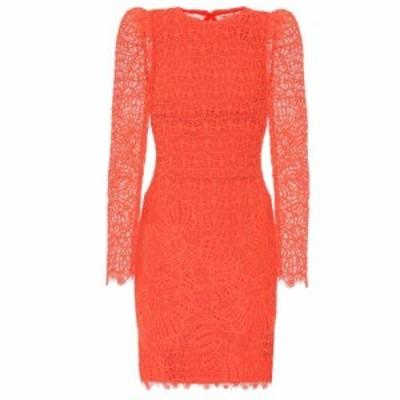 レベッカ ヴァランス Rebecca Vallance レディース ワンピース ワンピース・ドレス Mae lace minidress Orange