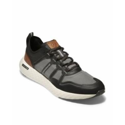 コールハーン メンズ スニーカー シューズ Men's ZeroGrand Outpace Runner Sneaker Black/Pavement/British Tan