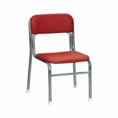 リブラ チェア レッド/クロムメッキ SL-34C 椅子