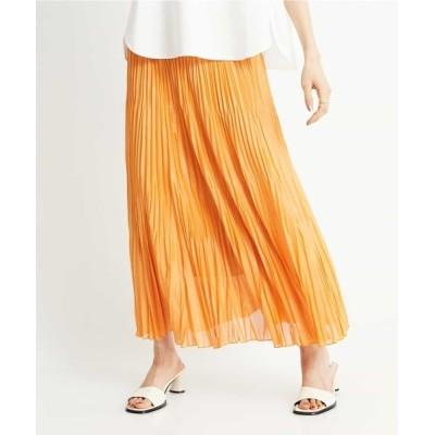 MICHEL KLEIN HOMME / 【洗える】チンツ加工プリーツスカート WOMEN スカート > スカート