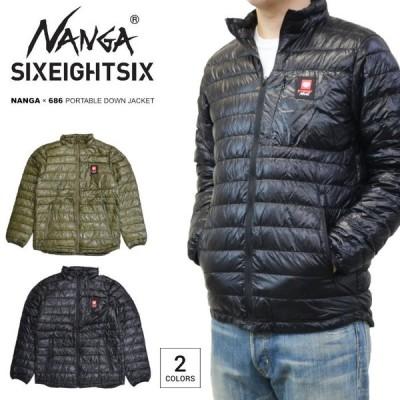 NANGA × 686 ナンガ × シックスエイトシックス ダウンジャケット PORTABLE DOWN JACKET ナンガ アウター ブルゾン M0WNA1