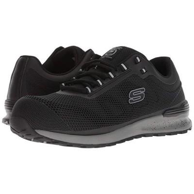 スケッチャーズ Bulklin Comp Toe メンズ スニーカー 靴 シューズ Black
