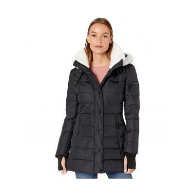 S13 エスサーティーン レディース 女性用 ファッション アウター ジャケット コート ダウン・ウインターコート Sherpa Chelsea - Black