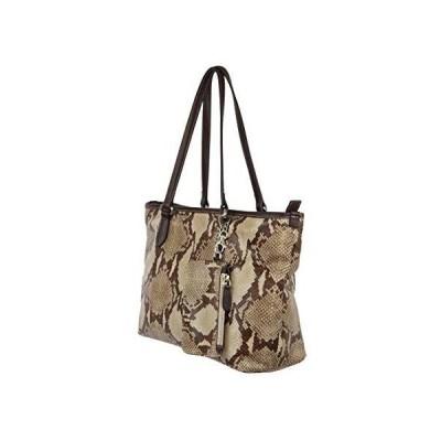 Lady Naga Women's Handbag Genuine Leather (Python Look) Handbag 並行輸入品