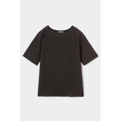 PLATE HALF SLEEVE Tシャツ D/BRN3