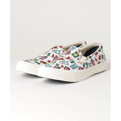 SCHOTT / CONVERSE/コンバース/SKIDGRIP US NATIONSFLAG SLIP-ON MEN シューズ > スニーカー