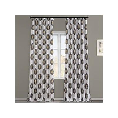 【送料無料】HPD HALF PRICE DRAPES PRTW-D02A-108 Printed Cotton Twill Curtain (1 Panel),好評販売中