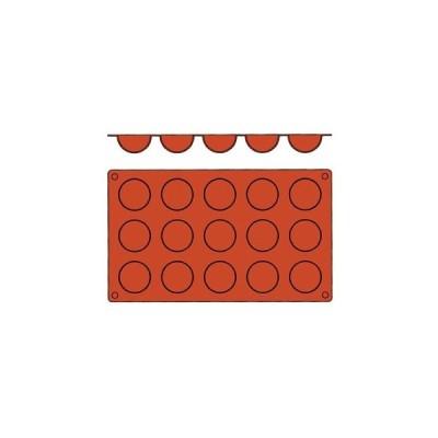 【まとめ買い10個セット品】 ガストロフレックス 半球型 S(1枚)2579.01(15ヶ取)【 製菓・ベーカリー用品 】