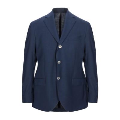 BRANDO テーラードジャケット ダークブルー 50 ウール 99% / ポリウレタン® 1% テーラードジャケット
