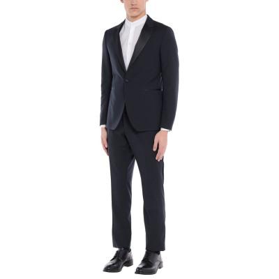 DINNER th5 スーツ ブルー 52 スーパー110 ウール 100% スーツ