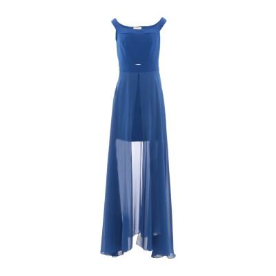 MARY D'ALOIA® ミニワンピース&ドレス ブルー 44 ポリエステル 100% ミニワンピース&ドレス