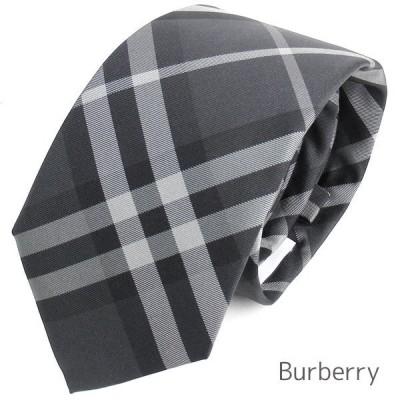 バーバリー ロンドン ネクタイ メンズ Burberry シルク チェック柄 イタリア製