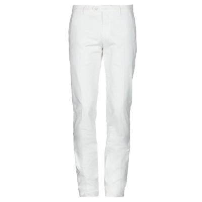 ラルディーニ LARDINI パンツ ホワイト 52 コットン 98% / ポリウレタン 2% パンツ